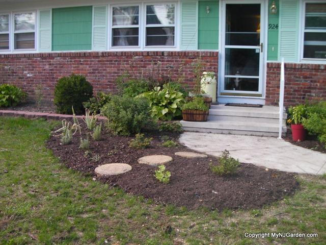 Front Yard Fall Planting