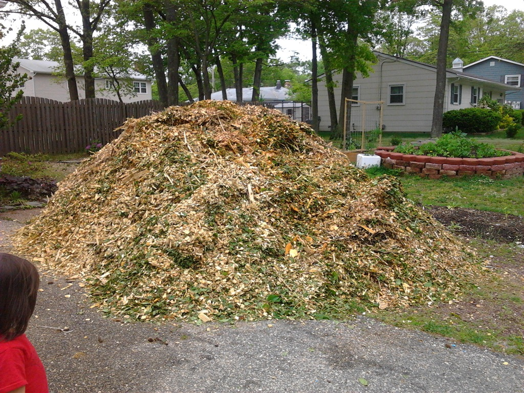 I Got Free Mulch! Don't Worry Husband, I'll Take Care Of It!
