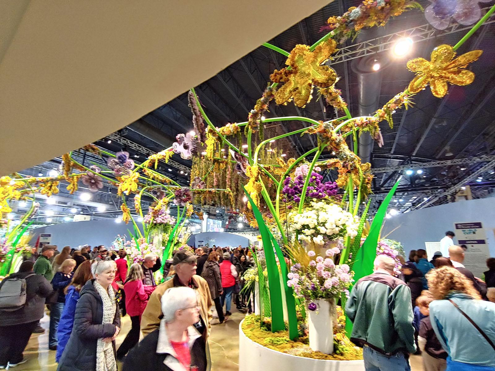 2019 Philadelphia Flower Show Opening Day