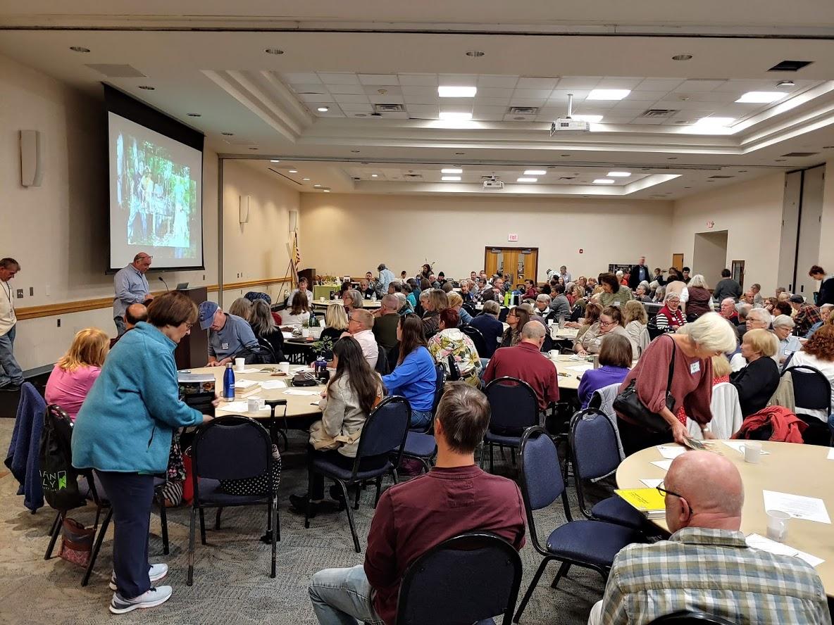 Garden Conferences, Public Speaking and Preparing For Colder Temperatures